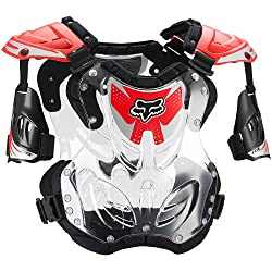 Fox Racing R3 Men's Roost Deflector Motocross Motorcycle Body Armor - Red