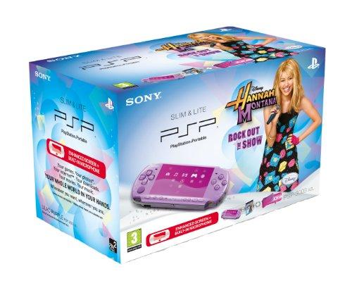 Sony PSP 3000 Console (Lilac) with Hannah Montana Bundle (PSP)