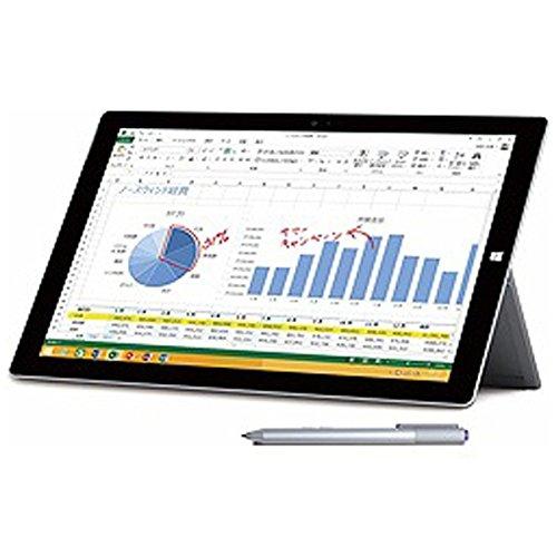 マイクロソフト Surface Pro 3 [サーフェス プロ](Core i3/64GB) 単体モデル [Windowsタブレット] 4YM-00015 (シルバー)