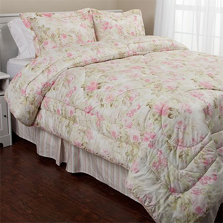 Eileen West Bella Rose Comforter Set, King
