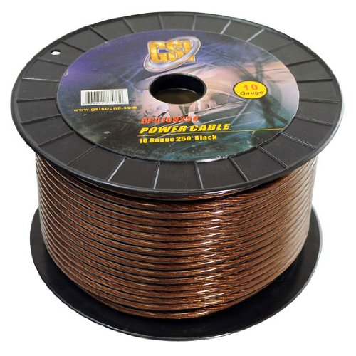 Gsi Gpc10B250 - 10 Gauge Power Ground Cables