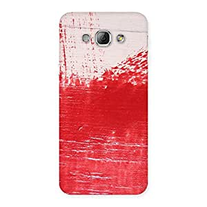 Cute Red Fresh Texture Back Case Cover for Galaxy A8