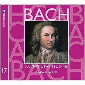 """Cantata No.56 Ich will den Kreuzstab gerne tragen BWV56 : II Recitative - """"Mein Wandel auf der Welt"""" [Bass]"""