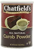 Chatfields Carob Powder, 16-Ounce (Pack of 3)