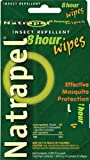 Natrapel 8 Hour Insect Repellant Wipes, 12 Individually Wrapped Wipes