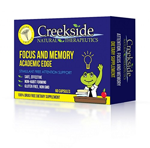 Academic Edge (Capsules) Focus And Memory For Teens And Adults