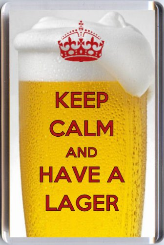 keep-calm-and-have-a-lager-fridge-magnet-printed-on-an-image-of-lager-in-a-glass-an-original-birthda