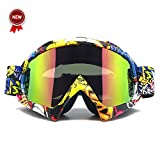 Zdatt Professional Adult Motocross Goggles Dirtbike ATV Motorcycle Gafas UV Protection Motorbike Ski Snowboard Goggles