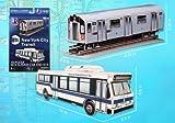 Mta 3D Puzzle BUS/SUBWAY Car