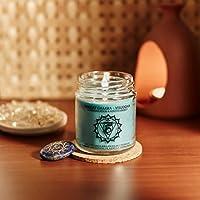 Resonance Meditation Candles - Throat Chakra Natural Wax Medium Jar Candle