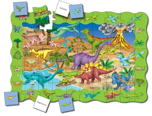 Cheap Fun The Learning Journey Puzzle Doubles Find It! Dinosaurs Floor Puzzle (B000P9YAAM)