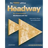 New Headway: Pre-Intermediate: Workbook: With Key: Workbook with Key Pre-intermediate levby John Soars