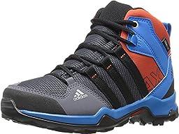 adidas AQ4126 Kid\'s AX2 Mid CP, Onix/Black/Shock Blue - 5.5
