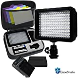 LimoStudio-160-LED-Video-Light-Lamp-Panel-Dimmable-for-DSLR-Camera-DV-Camcorder-AGG1318