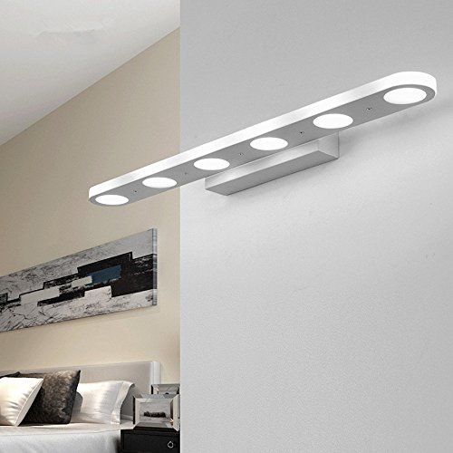 Mabor l mpara de ba o tocador luz 18w 57cm para pared for Luces de pared para banos