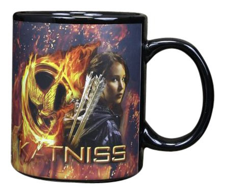 The Hunger Games Movie Thermal Mug Katniss & Logo