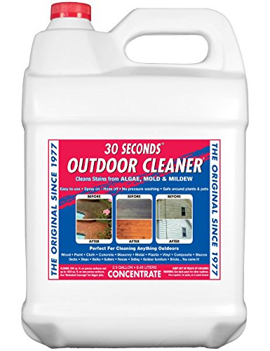30 SECONDS Outdoor Cleaner, 2.5 Gallon - Concentrate
