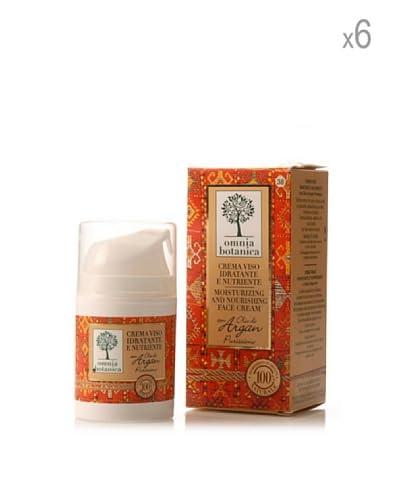 Omnia Botanica Set 6 Piezas De Crema Facial Hidr. Y Nutrit. De Aceite De Argán 50 ml Ud.