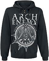 Arch Enemy Symbol Kapuzenjacke schwarz