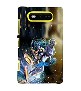 PRINTVISA Zodiac Libra Case Cover for Nokia Lumia 820