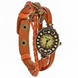 Eleganzza Beige Dial Analogue Watch for Men (Heartwing)