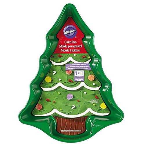 Christmas Cake Ideas Wilton : Wilton 2105-0070 Christmas Tree Cake Pan - Recipes2U