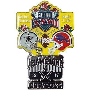 NFL Dallas Cowboys Super Bowl XXVII Collectors Pin