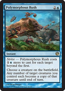 Magic: the Gathering - Polymorphous Rush (46/165) - Journey into Nyx - 1