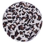 Eozy 6 Farbe Fashion Unisex Weichen Einfarbrig Leopard-Muster Hellkaffee Baskenmütze