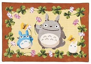 Amazon Com Chenille Studio Ghibli Totoro Blanket Flower