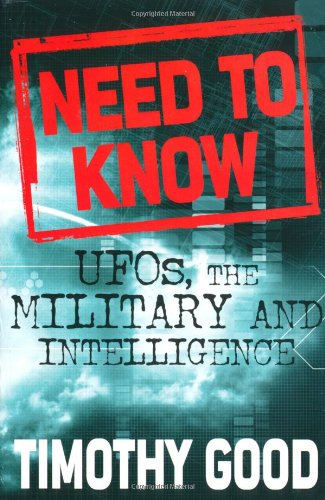 Need to Know : UFOs, the Military, and Intelligence