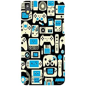 HTC Desire 816 Back Cover - Mysterious Designer Cases
