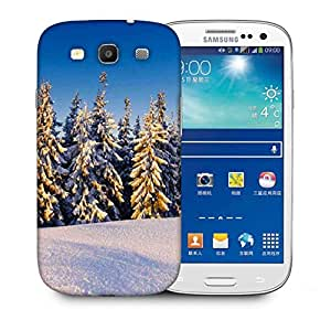 Snoogg Christmas Trees Printed Protective Phone Back Case Cover For Samsung S3 / S III