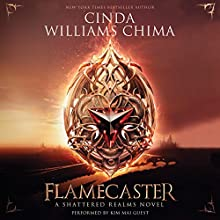 Flamecaster: Shattered Realms Audiobook by Cinda Williams Chima Narrated by Kim Mai Guest