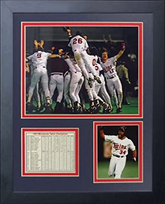 "Legends Never Die ""1991 Minnesota Twins Champions"" Framed Photo Collage, 11 x 14-Inch"