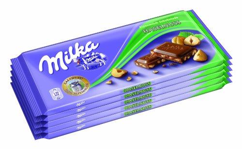 Milka Haselnuss 5er, 1er Pack (1 x 500 g)