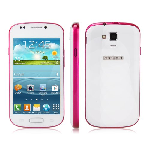Generic Unlocked Quadband 2 sim with Android 2.3 OS (Android 4.1 UI