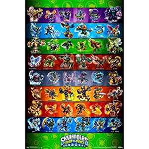 Skylanders Swap Force Grid Video Games Poster