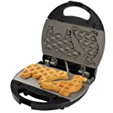 Sunbeam 3864 Nonstick Waffle and Sandwich Maker with 3 Removable Plates