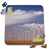 Danita Delimont - Windmills - Electric Windmill, power, Two Buttes, Colorado - NA02 RNU0090 - Rolf Nussbaumer - 10x10 Inch Puzzle (pzl_84237_2)