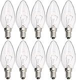 Philips Kerze Glühlampe, 40 W, 10 Stück, 926000006814