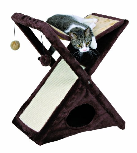 TRIXIE Pet Products Miguel Fold and Store Cat Tower TRIXIE Pet Products B003TOQ24C
