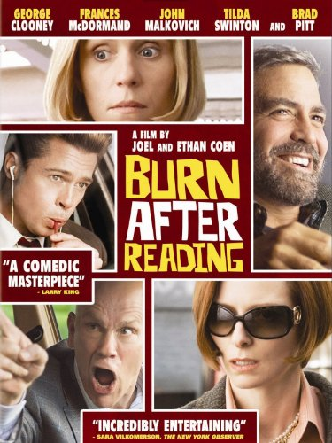 Burn After Reading Cover