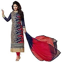 Shyam creation new heena heavy work dress materials