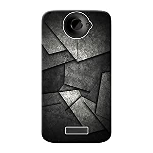Mobile Back Cover For HTC One X (Printed Designer Case)