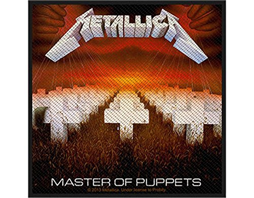 Metallica - Master of Puppets - Toppa/Patch