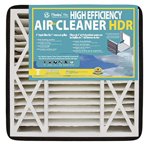NaturalAire High Efficiency HDR Air Filter, MERV 8, 20 x 25 x 5-Inch, 2-Pack (Flanders Filters 20x25x5 compare prices)