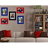 Exclusive Home Wall Decore _Wall Hangings_Set Of 5 Photo Frames_Multiple Photo Frame Edition_Great Diwali Gift