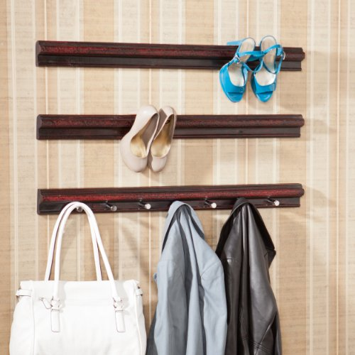 Southern Enterprises Madeleine High Heel Shoe/Purse 3-Piece Storage Rails