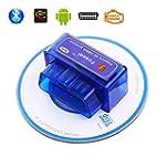 Foseal Car OBD2 OBD 2 OBDII Bluetooth...